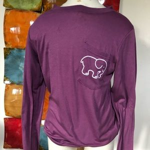 Purple Ivory Ella Long Sleeve Shirt
